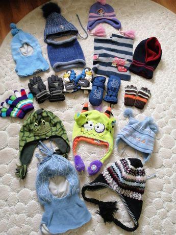 Шапочки, шарфики та рукавички для дітей