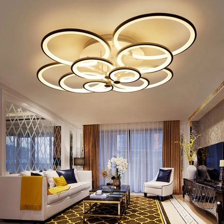 Lampa wisząca LED RING LAMPA sufitowa PLAFON ring żyrandol