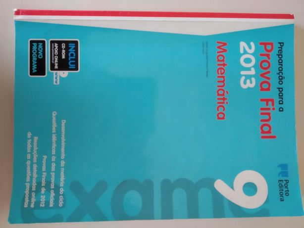 Livro preparar o exame matemática
