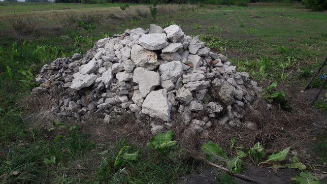 Продам камінь бутовий