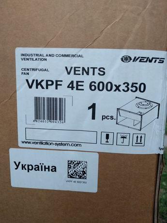 Вентилятор Вентс ВКПФ 4Е 600*350 новий.