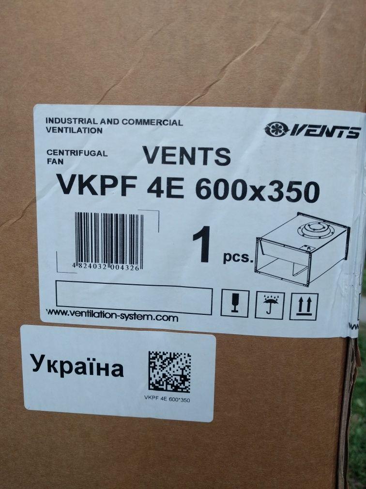 Вентилятор Vents VKPF 4E Вентс ВКПФ 4Е 600*350 новий.