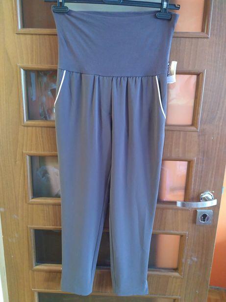 Włoskie spodnie ciążowe