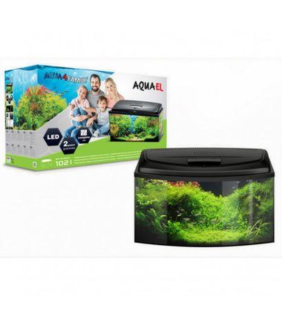 Aquael Aqua4family 102L 80x35x40cm zestaw akwariowy Owal