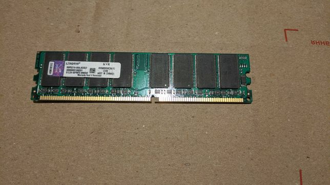 KVR400/1GR Kingston 1GB PC3200 DDR-400MHz non-ECC
