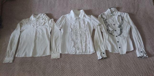 Одежда для девочек / школьная форма / блузка / рубашка /кофта