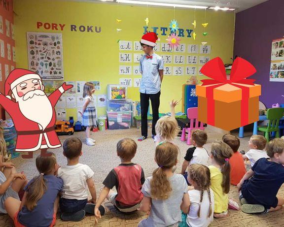 Ho ho ho Mikołajkowy Pokaz Iluzji w Szkole/Przedszkolu