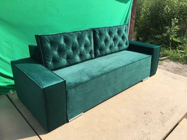 Стильный диван велюр.