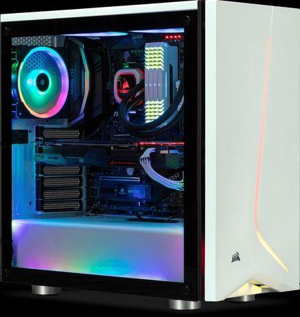 Caixa PC Atx Corsair Carbide Spec-06 RGB Branca
