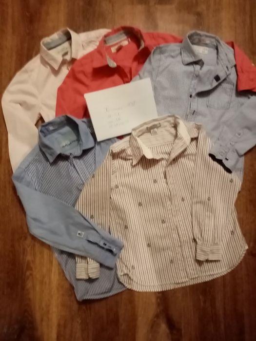 Koszule chłopięce, 128 rozmiar. Oświęcim - image 1