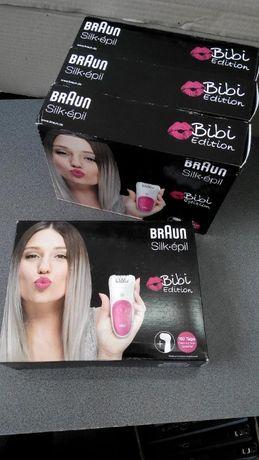 Эпиляторы новые Braun Silk-epil 5 Bibi edition
