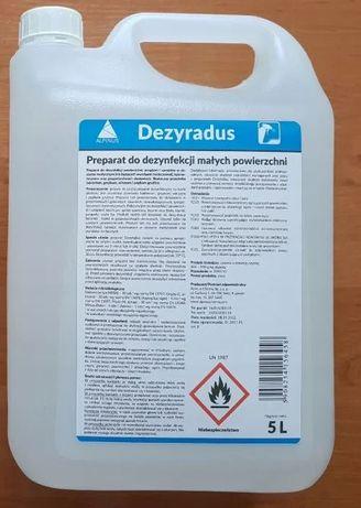 1L DEZYRADUS płyn DO DEZYNFEKCJI 1l Bielsko-Biała 1 litr 90% etanol