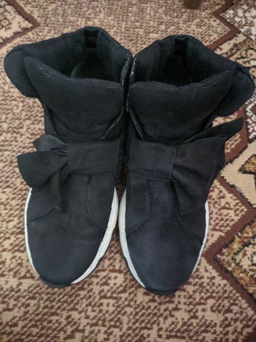 Ботинки tamaris нубук Заречное - изображение 1
