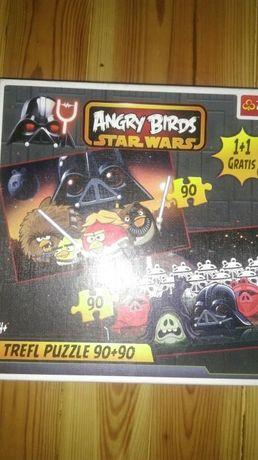 Puzzle angry birds star wars