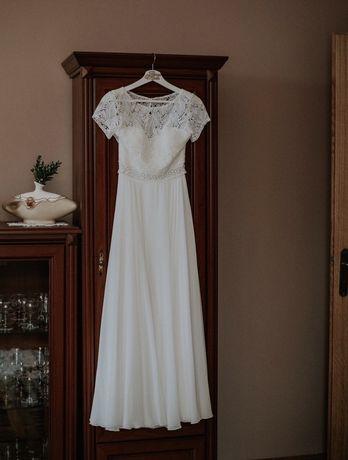 Suknia ślubna Flo ivory Adeline Amy Love rustykalna