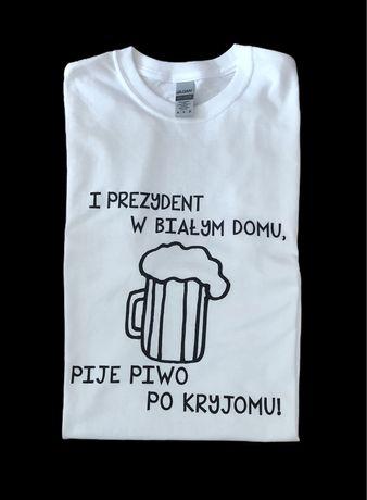 Koszulka z nadrukiem - Piwo