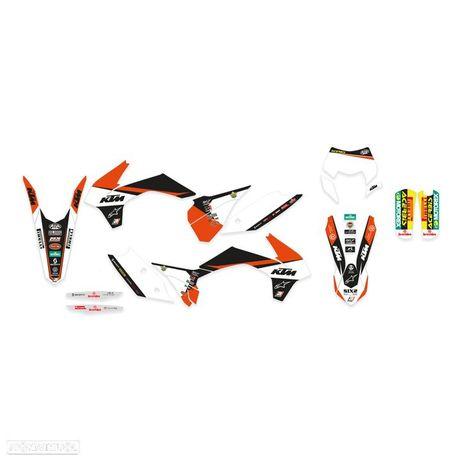 kit autocolantes blackbird kit ktm trophy 19 ktm exc / sx