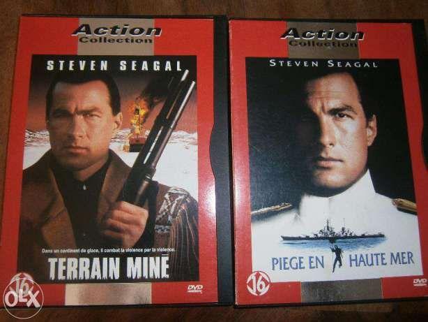 Colecção de 13 DVD l Steven Seagal