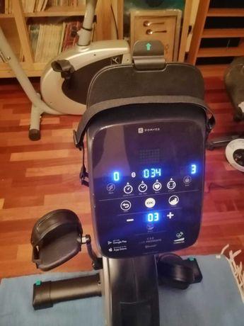 Bicicleta estática e seat - marca Domyos - como nova