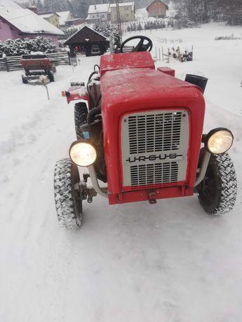 Ciągnik sam fiat 126p, traktor,