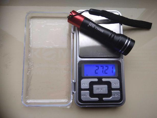 Электронные Новые Ювелирные Карманные Весы, 0,01-200 грамм, с Батар-ми
