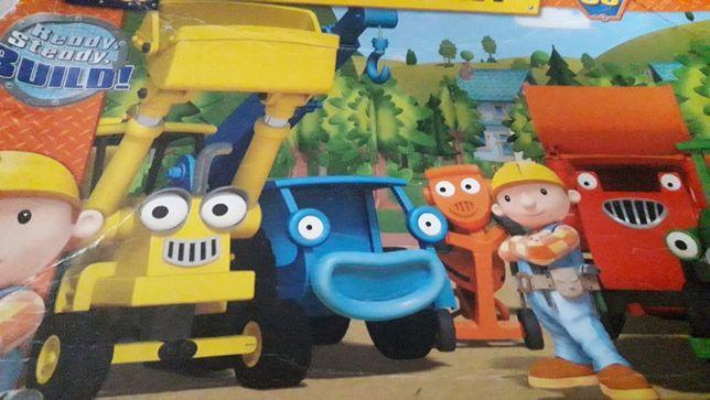 Mega Puzzle Smerfy i Bob Budowniczy