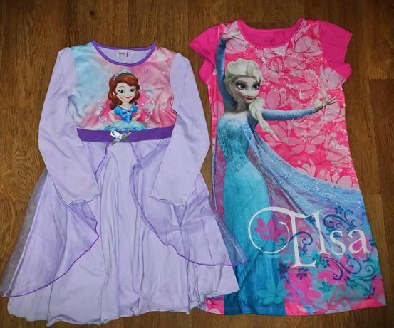 Платье пижама ночнушка на девочку 8-10-12л.