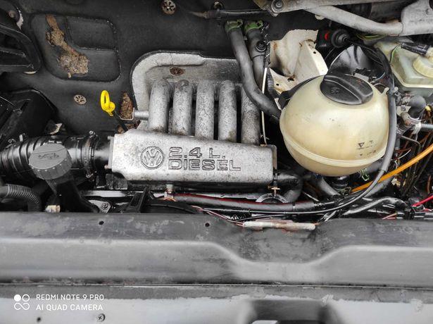 VW T4 2.4 D Silnik kompletny 1997 Super stan w aucie gwarancja Faktura