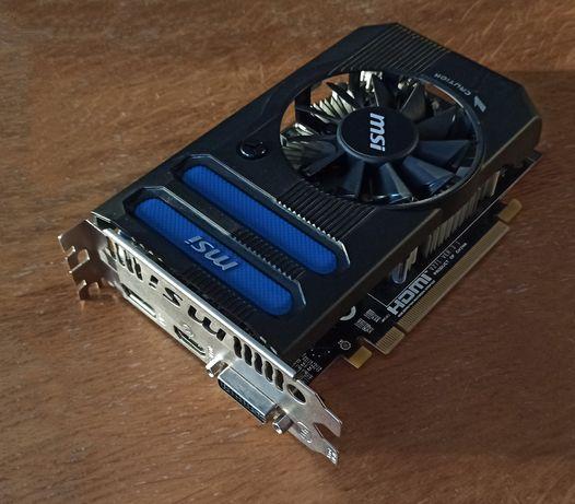 ATI Radeon HD R7770 MSI 1GB, 1x HDMI 1x DVI 1x DP Display Port