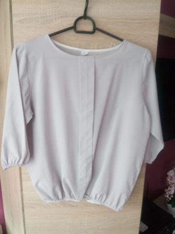 Elegancka szara bluzka M