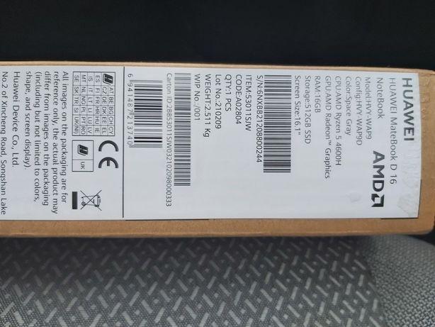 Notebook Huawei Matebook D16 HVY WAP9
