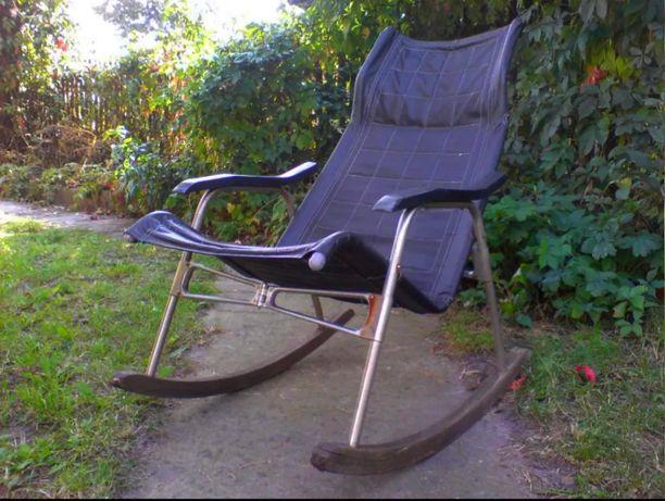 Fotel bujany, projekt Takeshi Nii, lata 50 Vintage Loft Industrial PRL