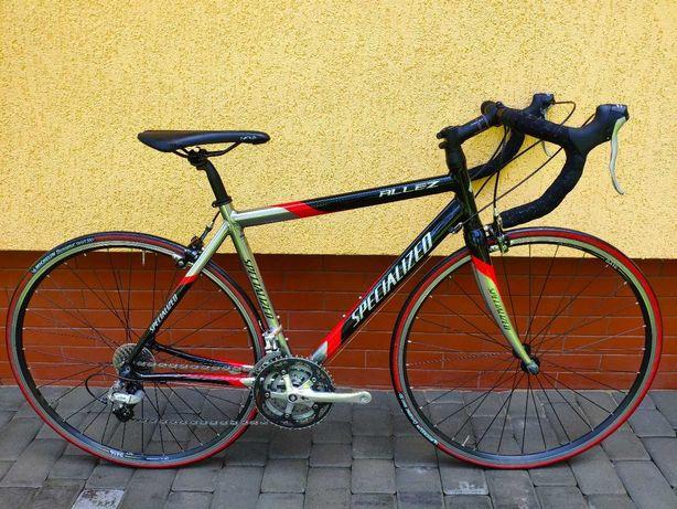 Шоссейний велосипед Specialized Allez A1 max резина Michelin