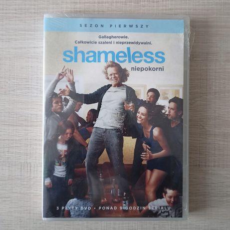 Shameless Niepokorni serial sezon 1 DVD płyta nowa w folii