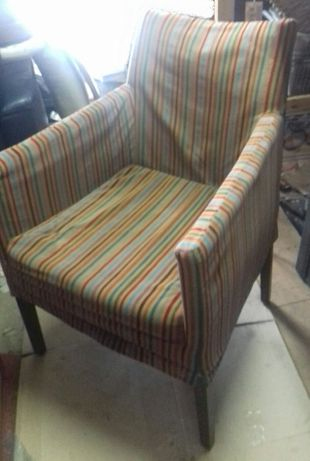 PRL - 4 wygodne fotele z lat 70 XX wieku