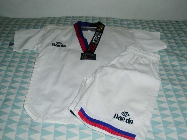 Fato Taekwondo verão - 140 cm - Daedo oficial