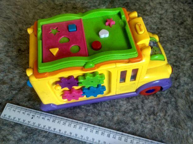Игрушка школьный автобус машинка