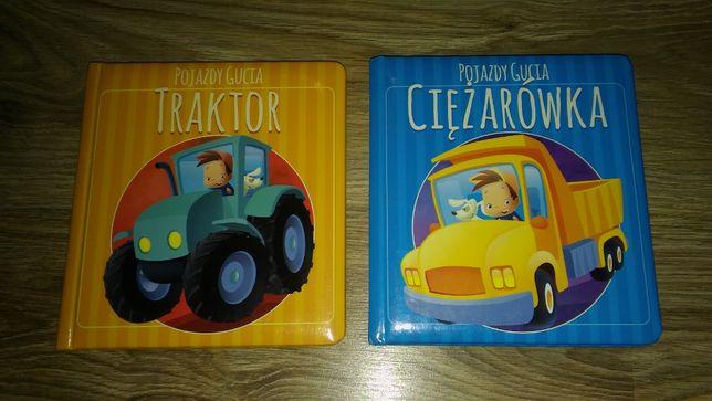 Książka, książeczka Przygody Gucia Traktor i Ciężarówka