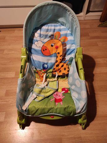 Bujaczek leżaczek kołyska Fisher Price dla dzieci siedzisko