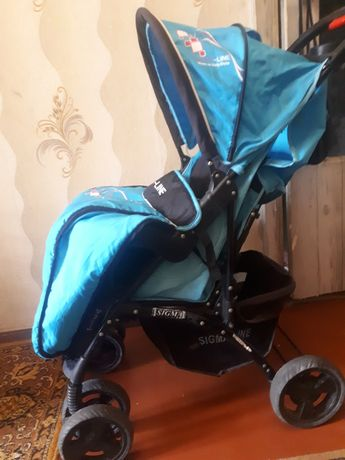 Продам прогулочную коляску  торговой марки SIGMA-LINE