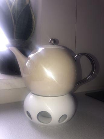 Dzbanek do herbaty podgrzewacz