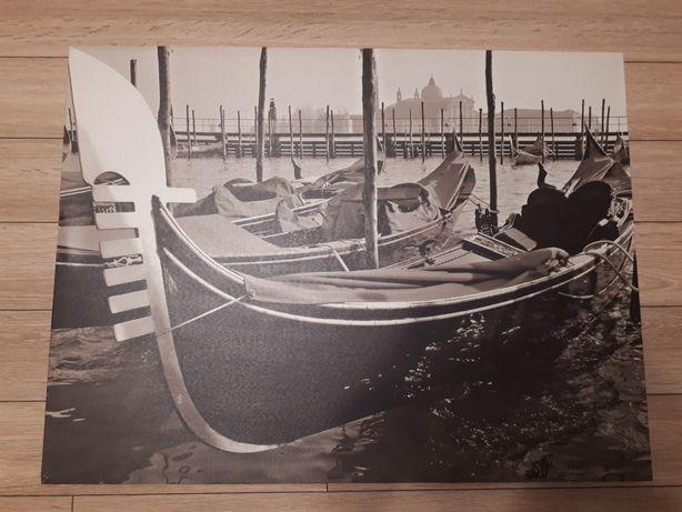 Obraz Wenecja gondole sepia