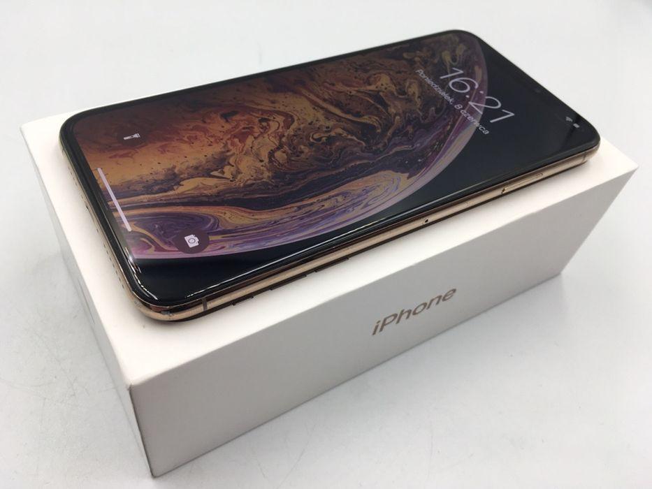 iPhone XS MAX 256GB GOLD • PROMOCJA • GWAR 1 MSC • AppleCentrum Wrocław - image 1