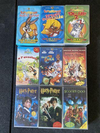 Filmes VHS Warner Bros