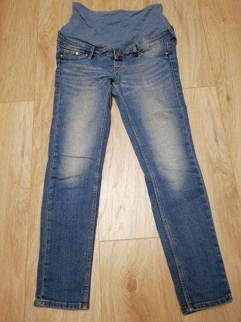 Spodnie H&M Mama 34 XS 160 jeansy ciążowe rurki
