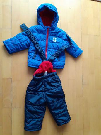 Kurtka zimowa+spodnie komplet