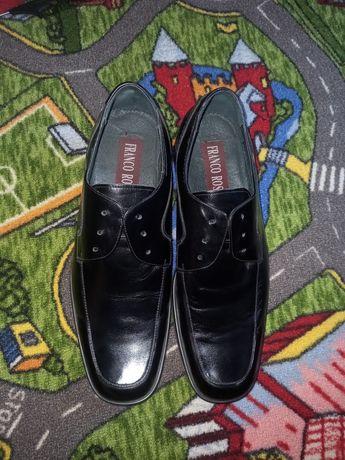 Фирменные туфли кожаные
