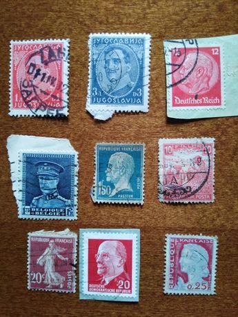 Stare znaczki sprzedam