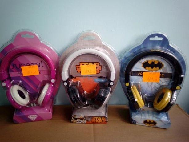 słuchawki star wars super girl batman