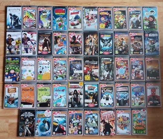 Zestaw gier na konsole psp PlayStation na sztuki duży wybór różne ceny